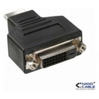 ADAPTADOR DVI 24+1/H-HDMI/M NANOCABLE 10.15.0701