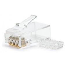 Nanocable - Bolsa 10 conectores RJ45 CAT.6 con guia (Espera 3 dias)