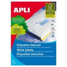 ETIQUETAS APLI A4 210X148MM