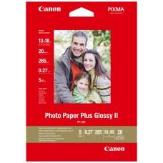 CANON PAPEL INKJET PP201 FOTOGRAFICO PLUS 13X18CM 20 (Espera 3 dias)