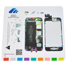Alfombrilla Magnética Despiece Iphone 5/5C/5S