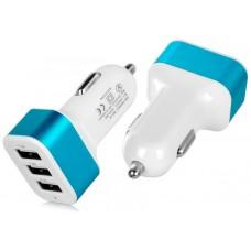Cargador Coche USB 3 Puertos 3.1A