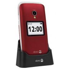 """Doro 2424 2.4"""" 92g Rojo Teléfono para personas mayores"""