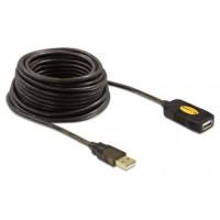 CABLE USB DELOCK USB2.0 A/M - USB2.0 A/H 10,0M NEGRO