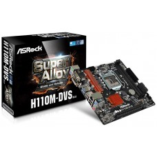 Asrock H110M-DVS R3.0 Intel H110 LGA1151 Micro ATX placa base