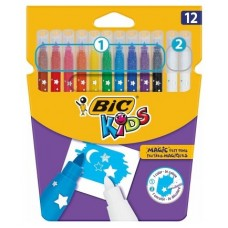 ROTULADOR BIC KIDS MAGIC 12 UDS