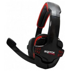 approx Auricular+Mic Gaming appGH9 Rojo/Negro