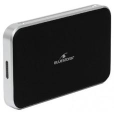 """Bluestork BS-EHD-25/COMBO/30 HDD/SSD enclosure 2.5"""" Negro, Plata recinto de almacenaje"""