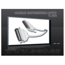 CABLE 3GO IMPRESORA 1.8M LPT CENTRONICS