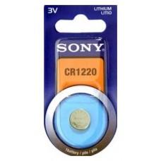 Blister 1 pila Sony CR1220 Litio ( 12.50 d . x 2 alt . (Espera 3 dias)