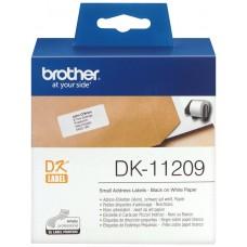 ETIQUETAS BROTHER DK11209 DIRECCION PEQ. 62X29 800