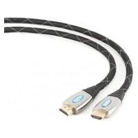 iggual Cable HDMI 4K 3D (M)-(M) Mallado Gold 3 Mts