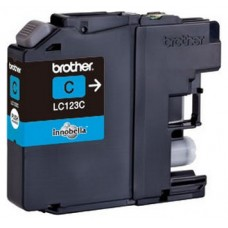 Brother LC-123CBP Cian cartucho de tinta