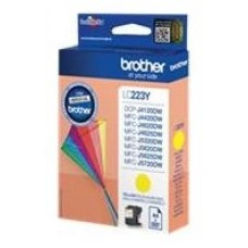 Brother Cartucho LC223YBP Yellow DCP4120DW 550 pg.