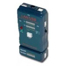 Cablexpert NCT-2 Negro comprobador de cables de red