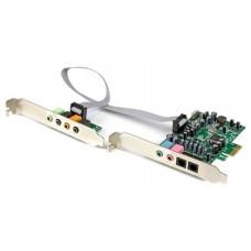 StarTech.com Tarjeta de sonido PCI Express con sonido (Espera 3 dias)