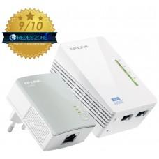 HOMEPLUG WIFI TP-LINK TL-WPA4220KIT 300MB AV500 CON 2