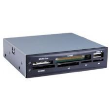 Tooq TQR-208B  Lector 3½ USB 2.0 Interno Negro