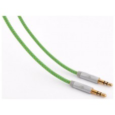 Bluestork TRENDY-AUX-F 1.2m 3.5mm 3.5mm Verde cable de audio