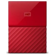 HD EXT 2.5  2TB WESTERN DIGITAL MY PASSPORT USB3 RED