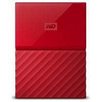 HD EXT USB3.0 2.5  3TB WD MY PASSPORT ROJO